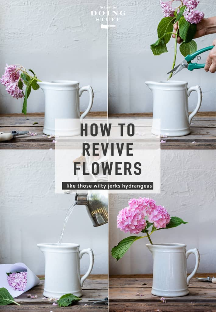 How to Revive Wilted Flowers.