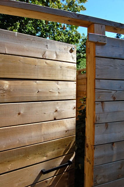 Magnetic gate latch how to diythe art of doing stuff - Exterior wood screws for fencing ...