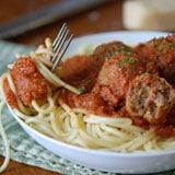 Mmmmm …. Spaghetti & Meatballs