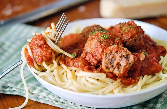 Mmmmm Spaghetti Meatballs The Art Of Doing Stuff
