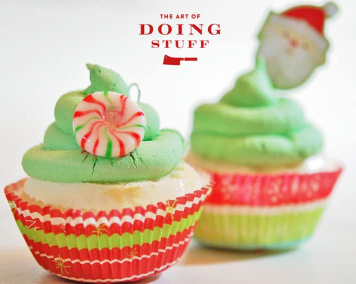 Imitation Cupcake Christmas Tree Ornaments Cupfakes The Art Of