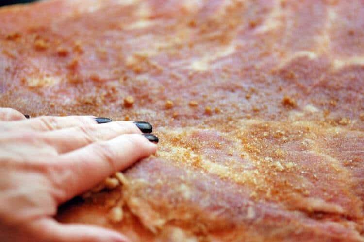 bacon-rub
