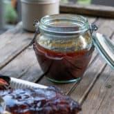 The Almost Award Winning Maple Bourbon BBQ Sauce!
