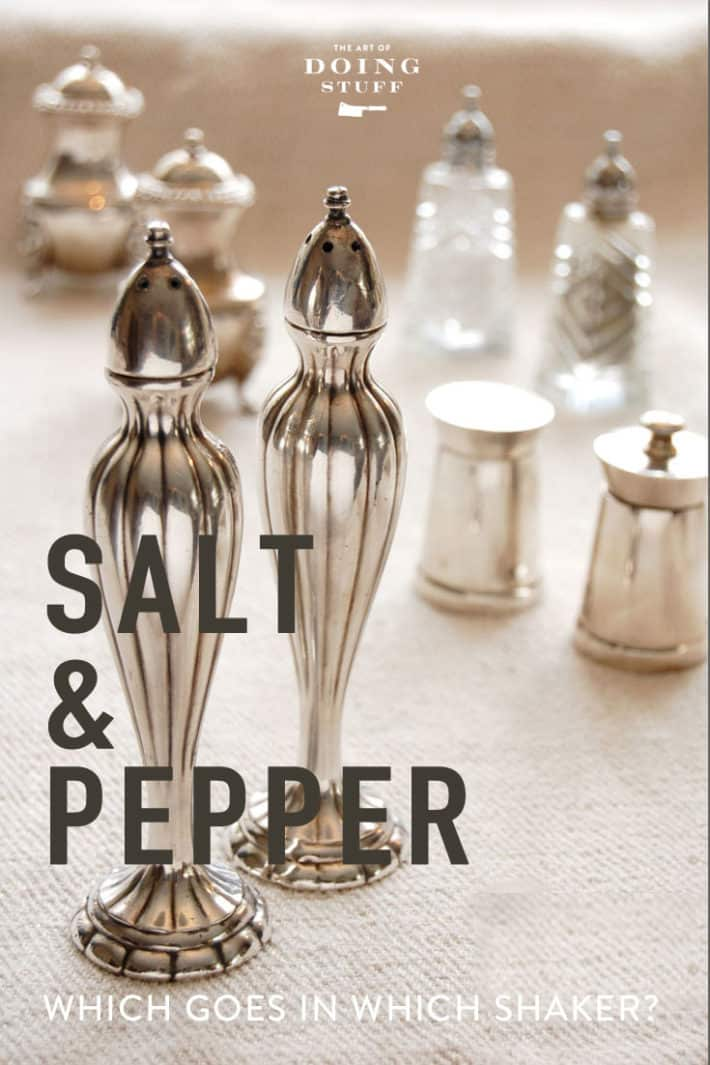 The Salt & Pepper Rule