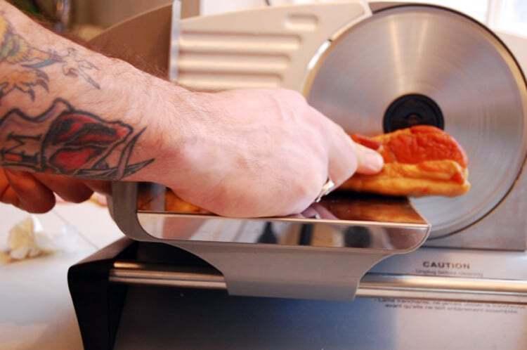 slicing-homemade-bacon