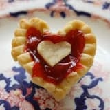 Easy Cherry Tarts. A Valentines Dessert Made with Love.