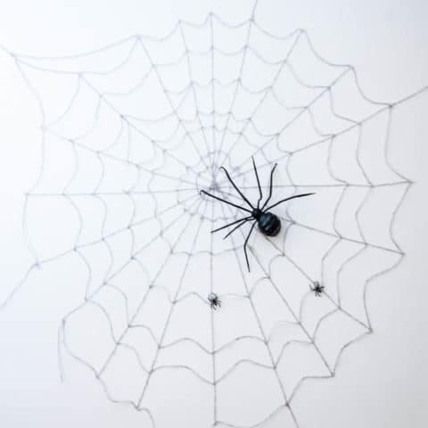 Halloween Wall Spider Web