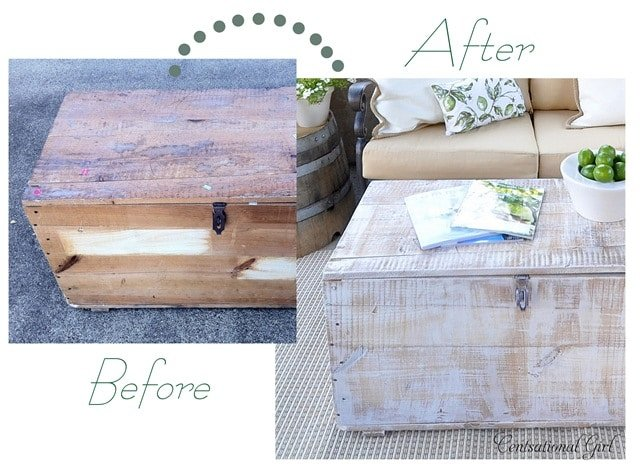 How to Whitewash FurnitureCentsational Girl Guest Posts  The
