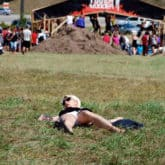 Karen at the Tough Mudder!