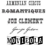 Circus Fonts!