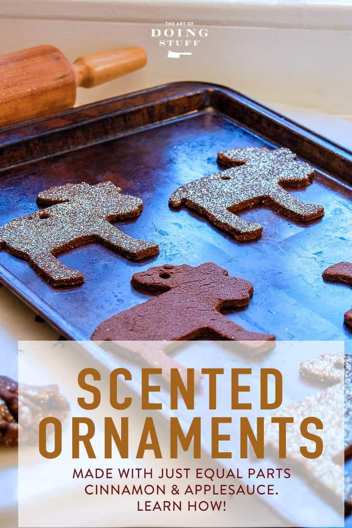Easy DIY Christmas Ornaments that Smell Delicious.