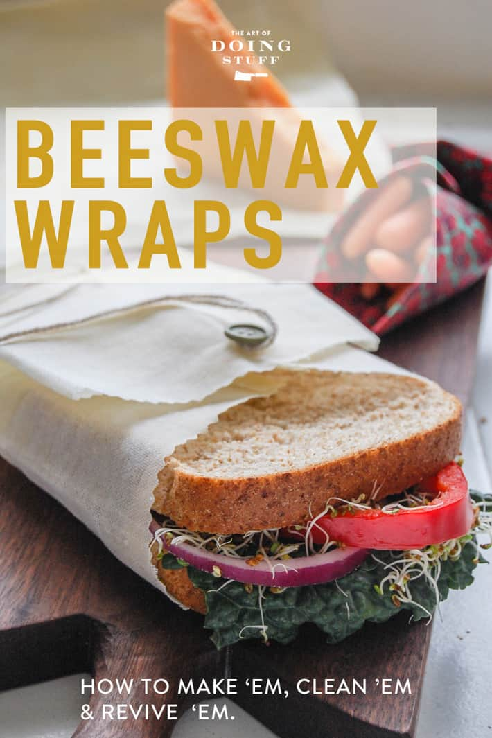 How to Make Your Own Beeswax Food Wraps.