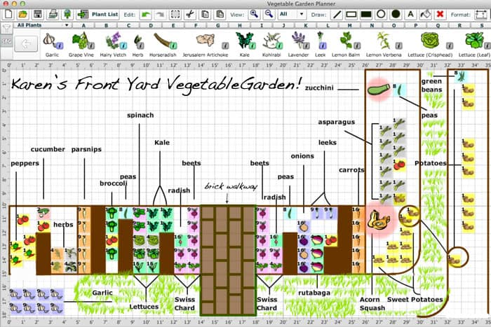 How To Plan Your Gardenan Online Tool. | The Art Of Doing Stuffthe