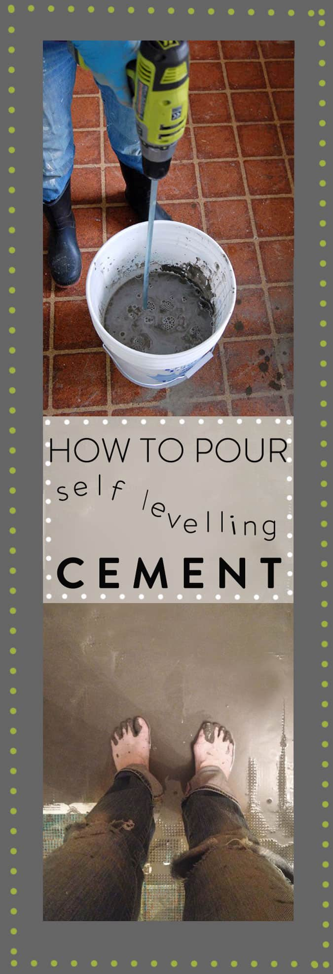 How to pour self levelling cement yourselfe art of doing stuff how to pour self levelling cement 2 solutioingenieria Image collections