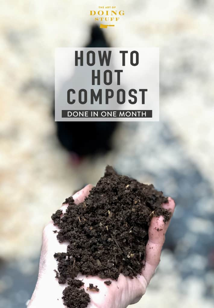 How to Hot Compost. (Hot Composting the Fastest Way)