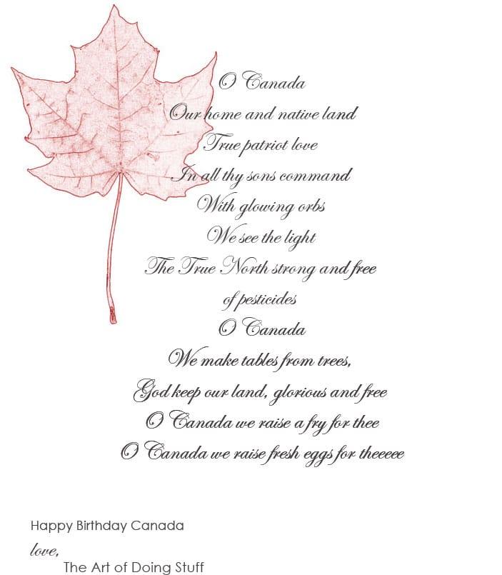 O-Canada
