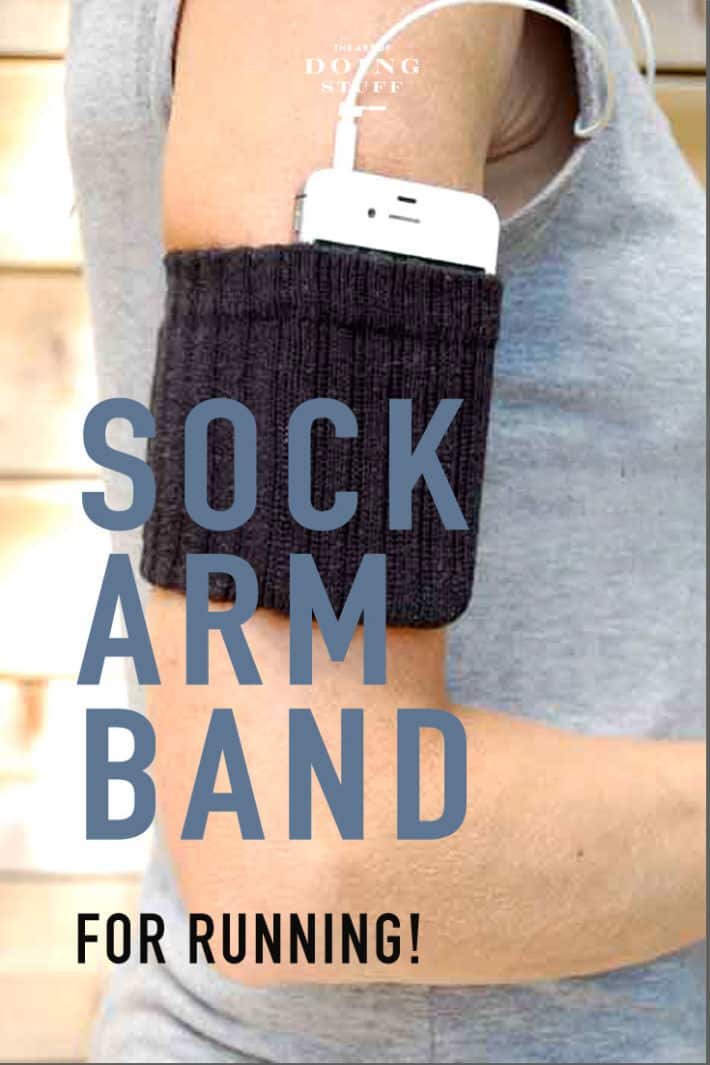 The Most Comfortable iPhone Armband EVER. Easy DIY.
