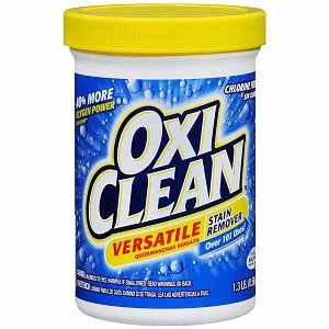 An Oxiclean experiment. Does it whiten