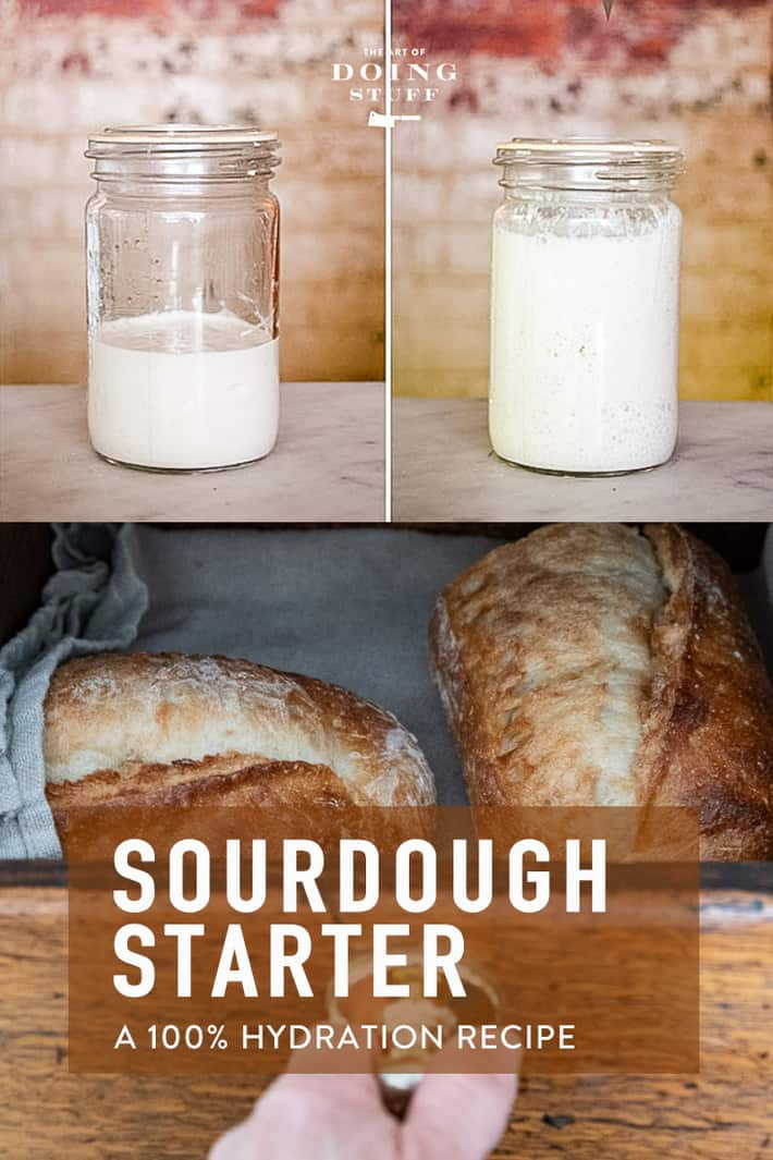 The Rise & Fall of Sourdough Starter. | The History & Recipe