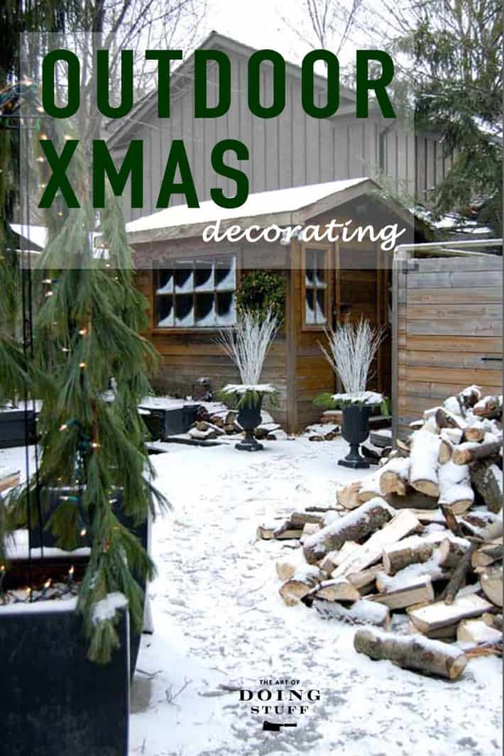 Outdoor Christmas Decoration Ideas The Art Of Doing Stuff