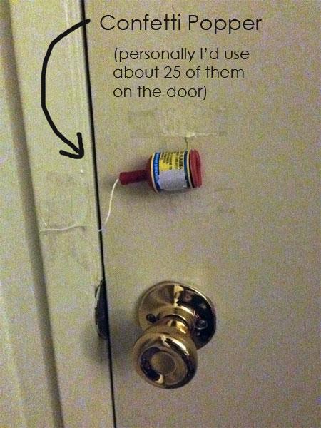 confetti-door