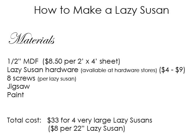 Completely new How to Make a Lazy Susan | The Art of Doing StuffThe Art of Doing  ER53