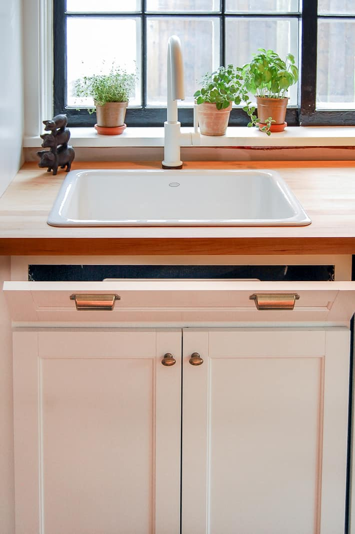 How To Install A Sink Tip Out Tray For Storage The Art Of Doing Stuff