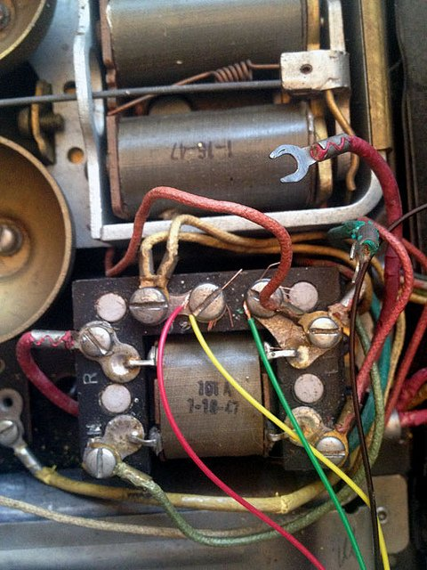 How to rewire a vintage phone so it works today the art of doing 302 phone guts asfbconference2016 Images