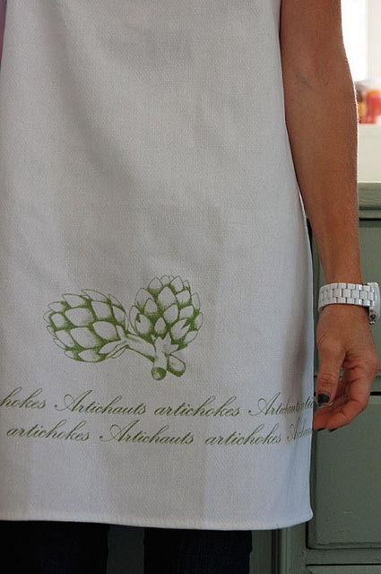 How To Make A Tea Towel Apron The Art Of Doing Stuff