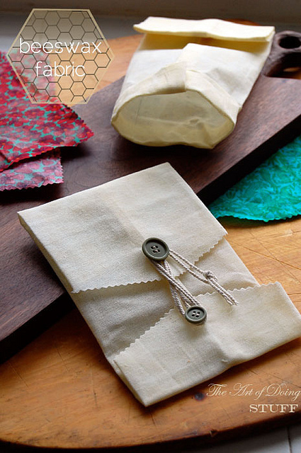 Beeswax Fabric Food Wrap  | The Art of Doing StuffThe Art of Doing Stuff