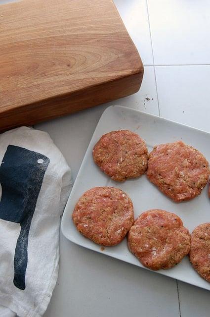 Chicken Burgers 1