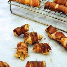 Cooked Bacon Wraps