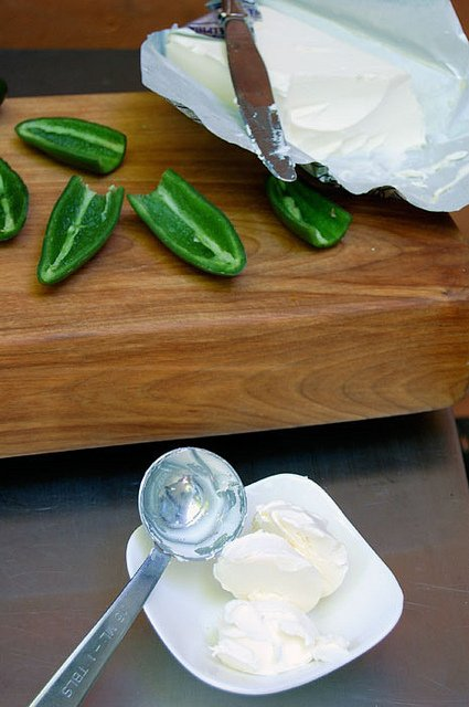Cream Cheese And Jalapenos
