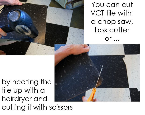 Cutting Vct Tile