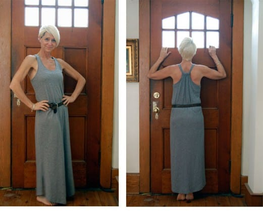 Dress Front And Back