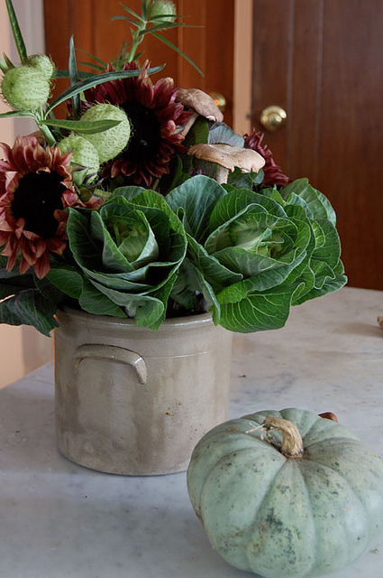 Fall Flower Arrangement 3