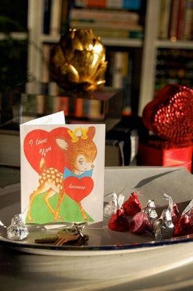 Front of Valentine