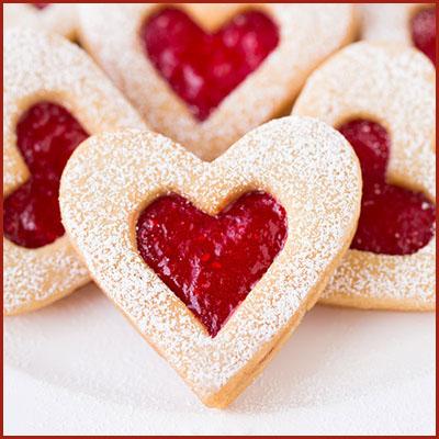 Heart Shaped Jam Jams