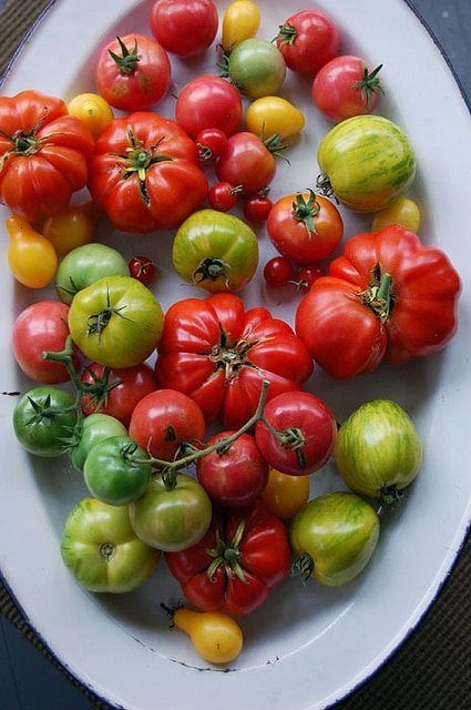 Heirloom Tomato Platter