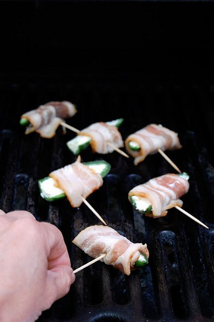 Jalapeno Poppers On Bbq