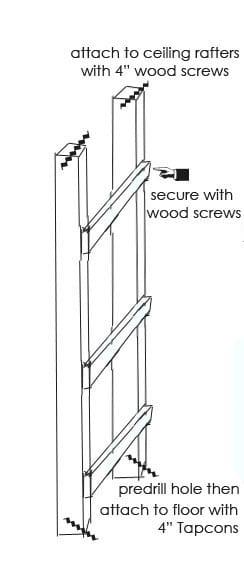 Ladder Screwing
