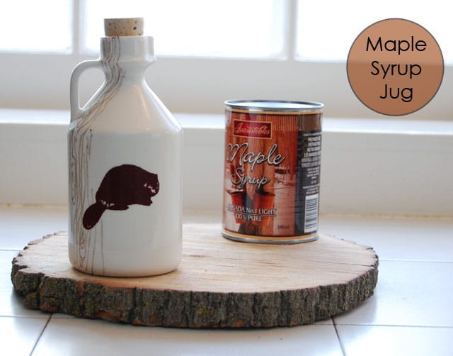 Maple Syrup Jug