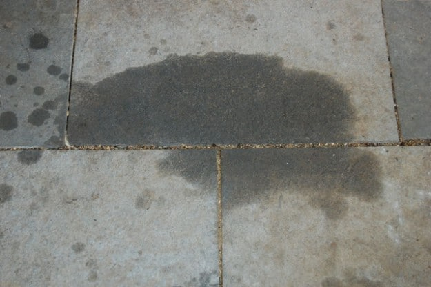 How to remove oil grease from cement or pavers the art for Remove oil from concrete floor