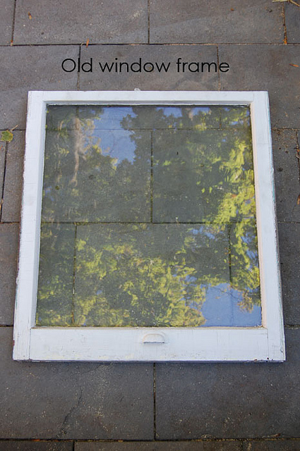 Old Window For Cold Frame