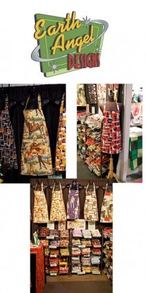 One Of A- Kind Show Aprons
