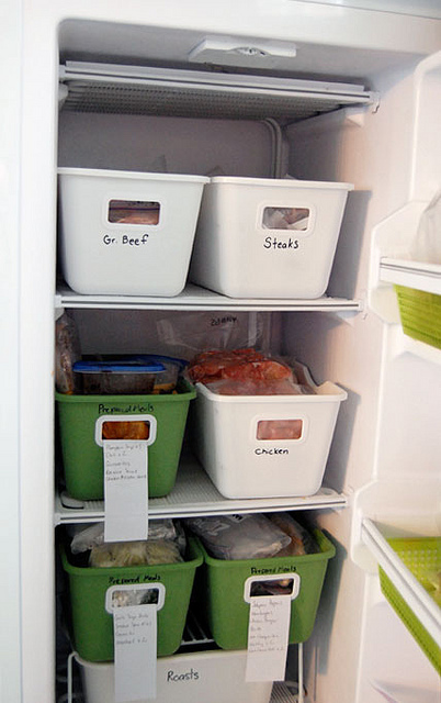Organized Freezer 1