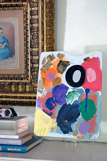 Painter 's- Pallette As Art