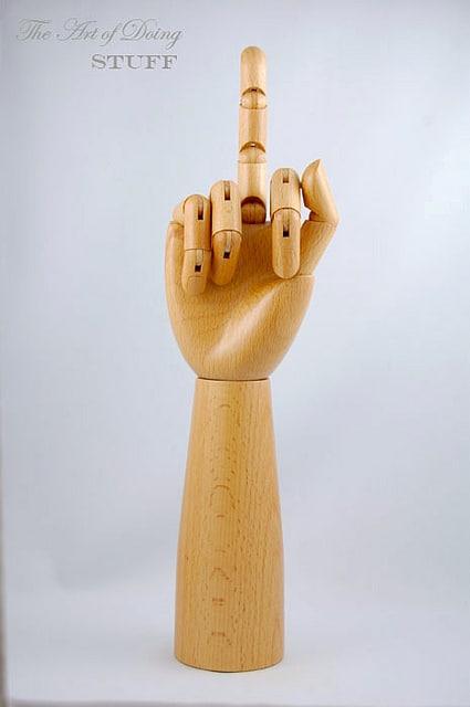 Pepper Mill Finger