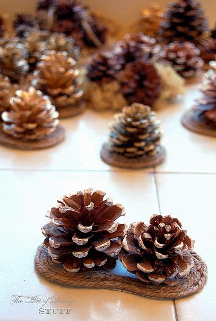 Pine Cone Bows 6