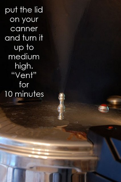Pressure Canning Venting